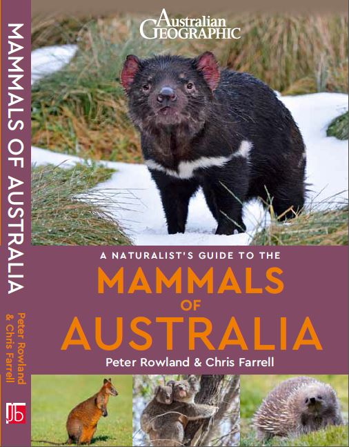Front cover of Naturalist's Guide to the Mammals of Australia Book by Peter Rowland & Chris Farrell